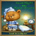 Good Nght And Sweet Dreams.