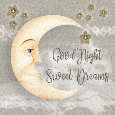 Good Night Sweet Dreams Moon.