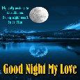 My Good Night Card For My Love.