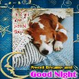Home : Everyday Cards : Good Night - A Good Night And Sweet Dreams Card.