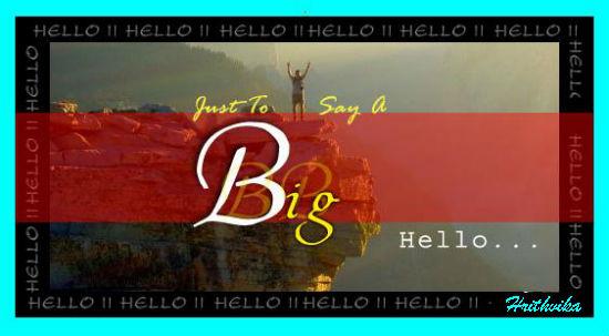 A Big Hello.