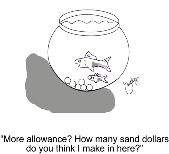 Sand Dollars.