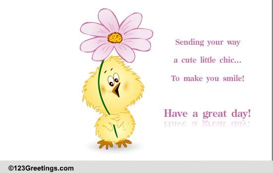 Smile And Have A Wonderful Day! Free Have A Great Day ECards | 123 Greetings
