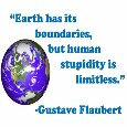 Earth And Human Stupidity!