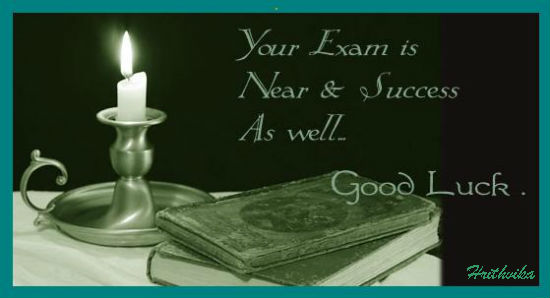 Good Luck For Your Exam.