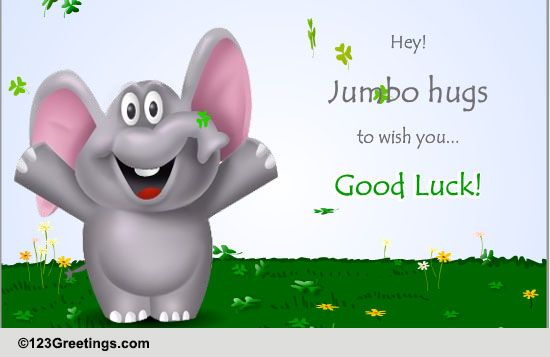 Everyday Good Luck Cards Free Everyday Good Luck eCards Greeting – Good Luck Cards to Print