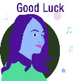 Home : Everyday Cards : Good Luck - Good Luck Girl...
