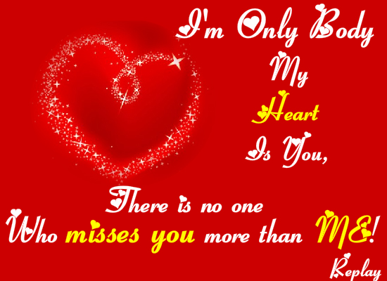 Miss you my love free miss you ecards greeting cards 123 greetings m4hsunfo