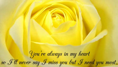 You Re Always In My Heart Free Miss You Ecards