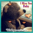 Home : Everyday Cards : Miss You - I Miss You Baby.