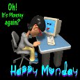 Home : Everyday Cards : Monday Blues - It's Monday Again!
