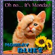 A Cute Monday Blues Card For You.