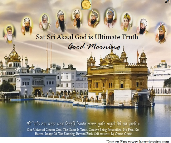 Good Morning Mool Mantra Japji Sahib.