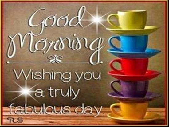 wish you a fantastic day  free good morning ecards