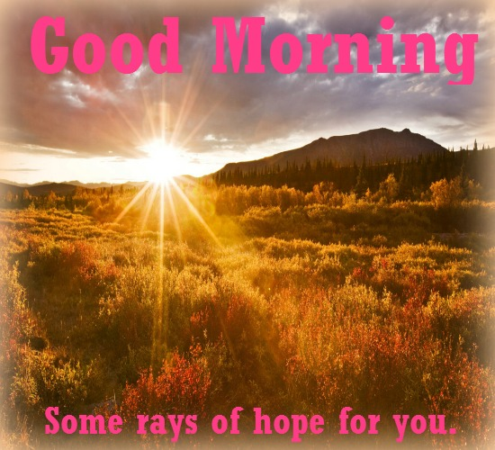 Sun Rises With Great Hopes And Gifts Free Good Morning