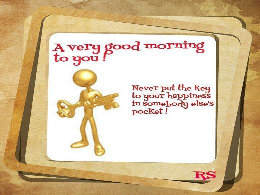 Wish You A Very Happy Morning.