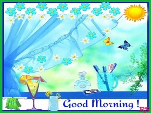 A Beautiful Good Morning To You...