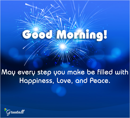 Good Morning And Wishing You...