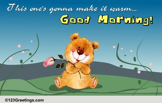 Good Morning Free Good Morning Ecards Greeting Cards