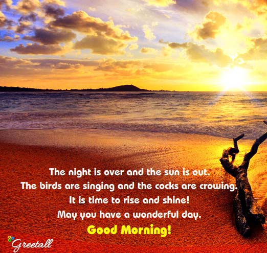 Time To Rise Quotes: It Is Time To Rise And Shine! Free Good Morning ECards