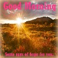 Sun Rises With Great Hopes And Gifts.