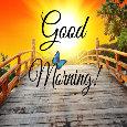 Cute Good Morning Greeting Ecard.