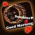 Elegant & Romantic Good Morning Card.