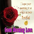 A Romantic Morning Card For Your Love.