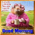 Home : Everyday Cards : Good Morning - A Relaxed Good Morning Card!