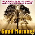 Home : Everyday Cards : Good Morning Quotes - Smile In The Mirror Every Morning