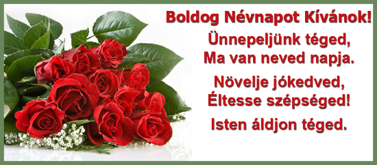 Boldog nvnap kvnok name day wish free name day ecards 123 send this lovely hungarian name day card to near and dear ones m4hsunfo