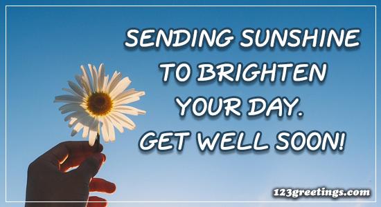 Sending Sunshine To...
