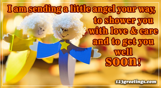 Sending A Little Angel...