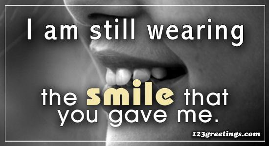 Wear A Smile...