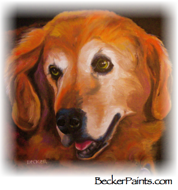 Golden retriever free thinking of you ecards greeting cards 123 golden retriever m4hsunfo