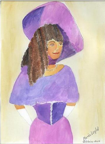 Marie Lloyd.