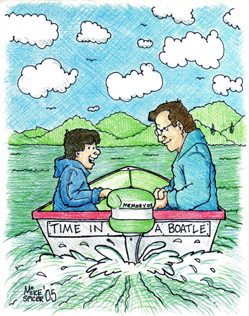 Time In A Boatle.