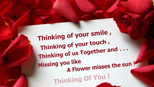 Thinking Of Us Together. Free Thinking of You eCards
