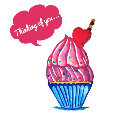 Thinking Of You Cupcake!