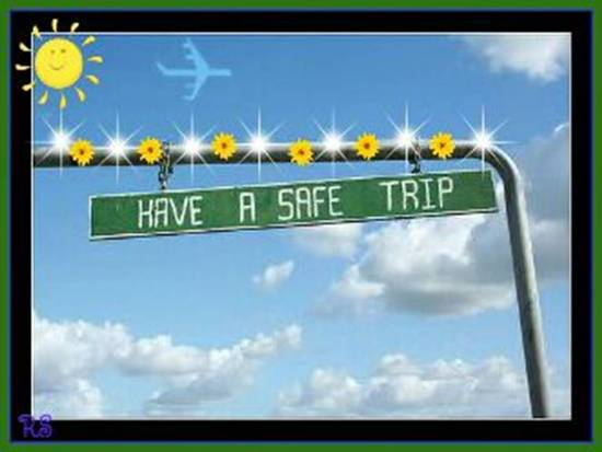 Have A Safe Trip Free Bon Voyage Ecards Greeting Cards