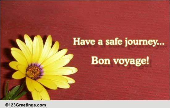 116836 pc jpgHave A Safe Journey With Flowers