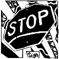 Stop Sign Maze.