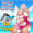 A Bunny Bon Voyage Ecard!!