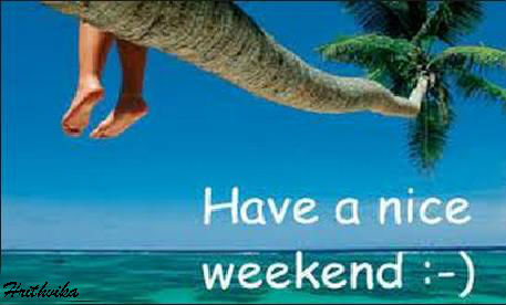 Nice Weekend...