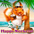 A Happy Weekend Ecard.