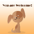 Home : Everyday Cards : You are Welcome - You're Welcome My Dear Friend.