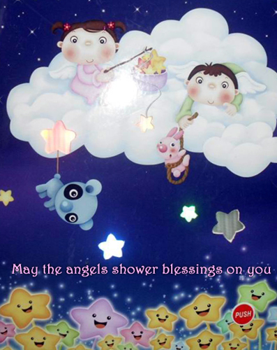 Angel's Shower.