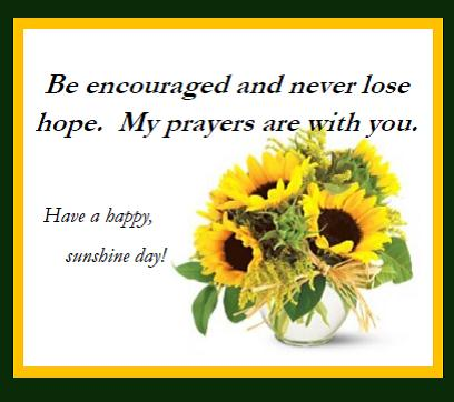 sunshine and encouragement free encouragement ecards greeting
