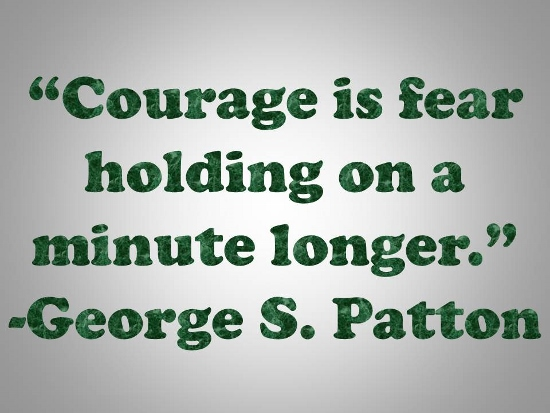 Patton On Courage.
