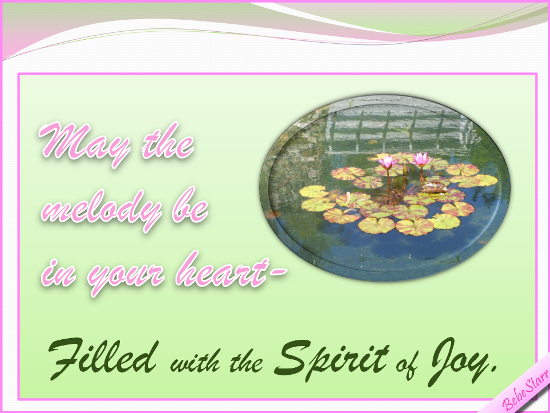 The Spirit Of Joy.